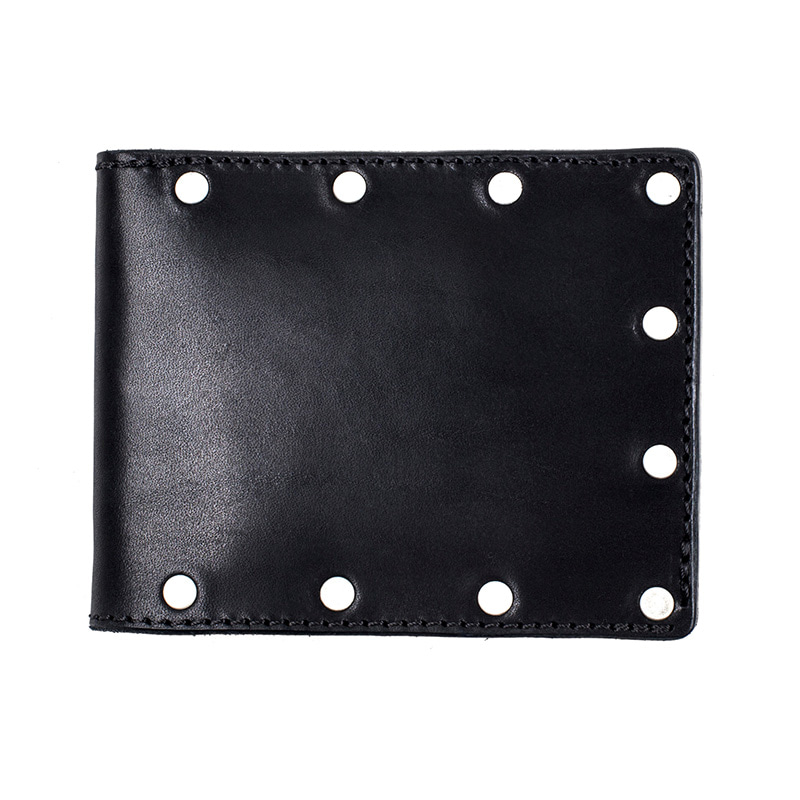 [에이징CCC]335# COW HIDE STUD WALLET