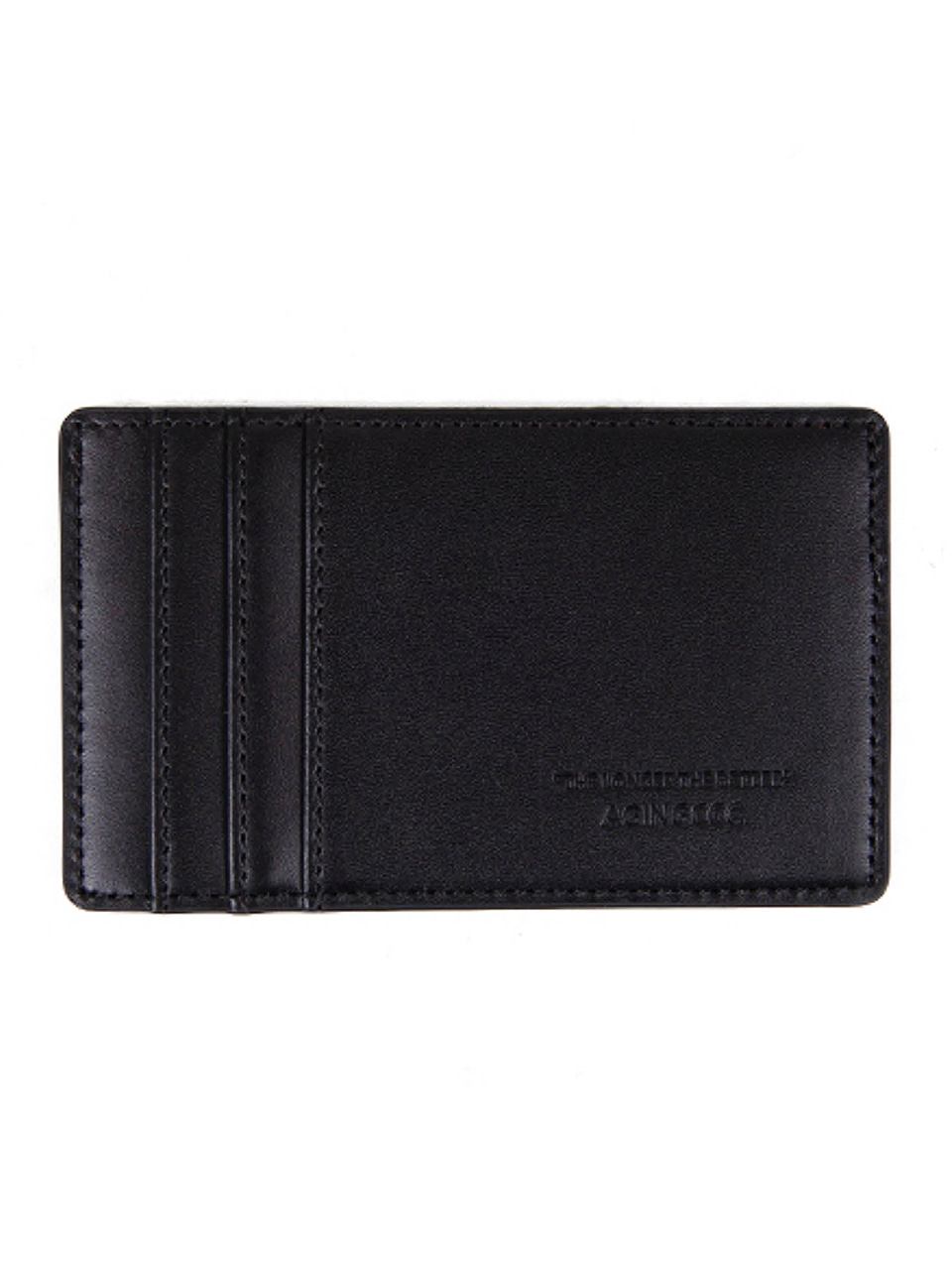 [에이징CCC]355# FG BLACK Y CARD WALLET