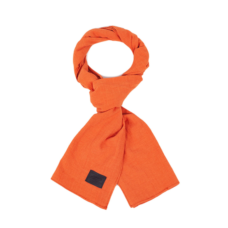 [에이징CCC]364# BASIC SCARF-ORANGE