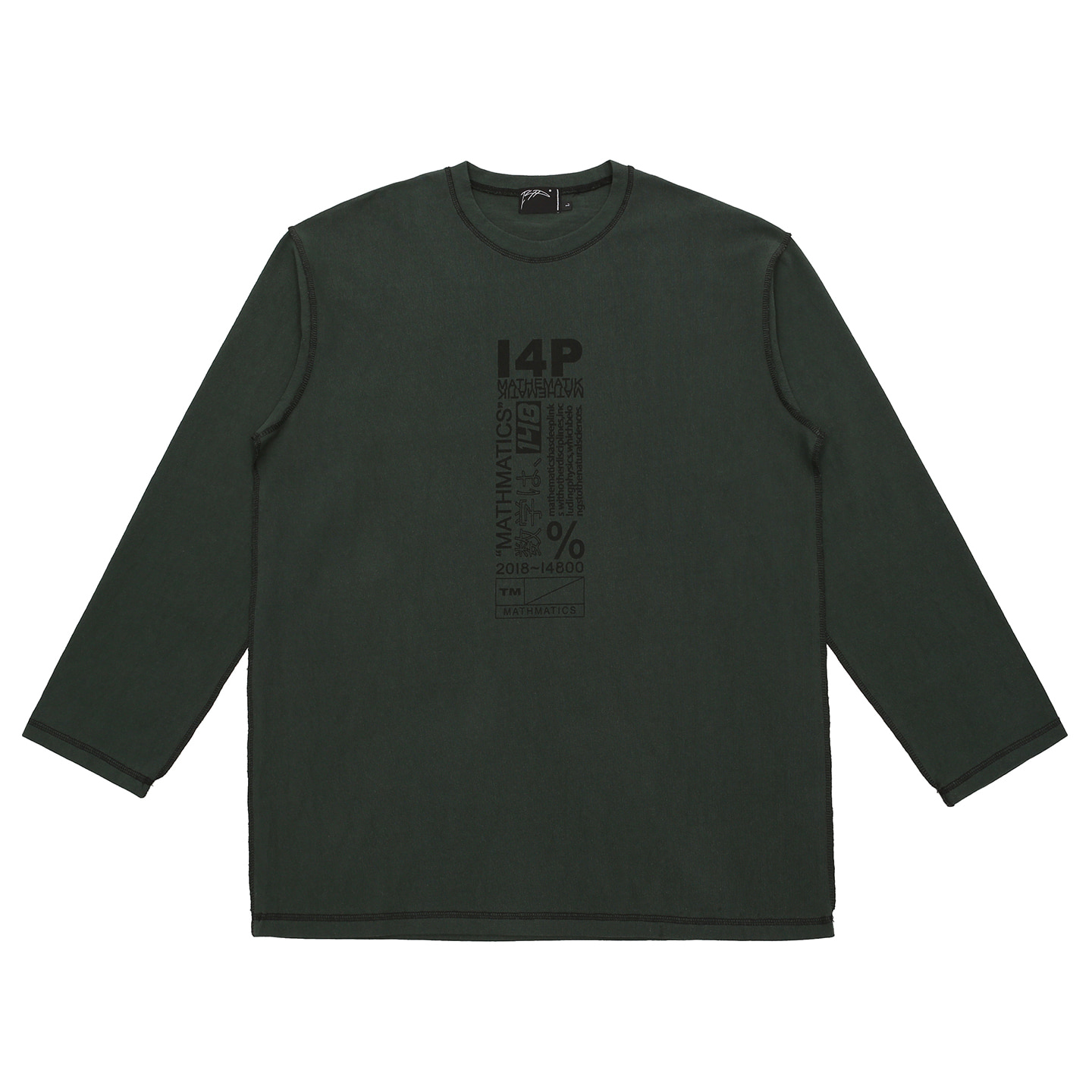 [아이사피] I4P Stitch Long Sleeve Green
