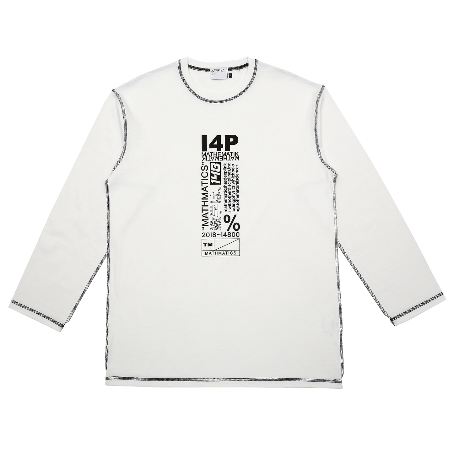 [아이사피] I4P Stitch Long Sleeve White