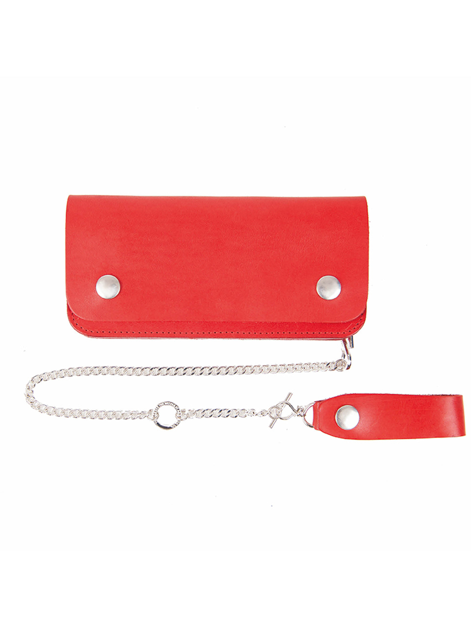 [에이징CCC]352# RED TRUCKER WALLET