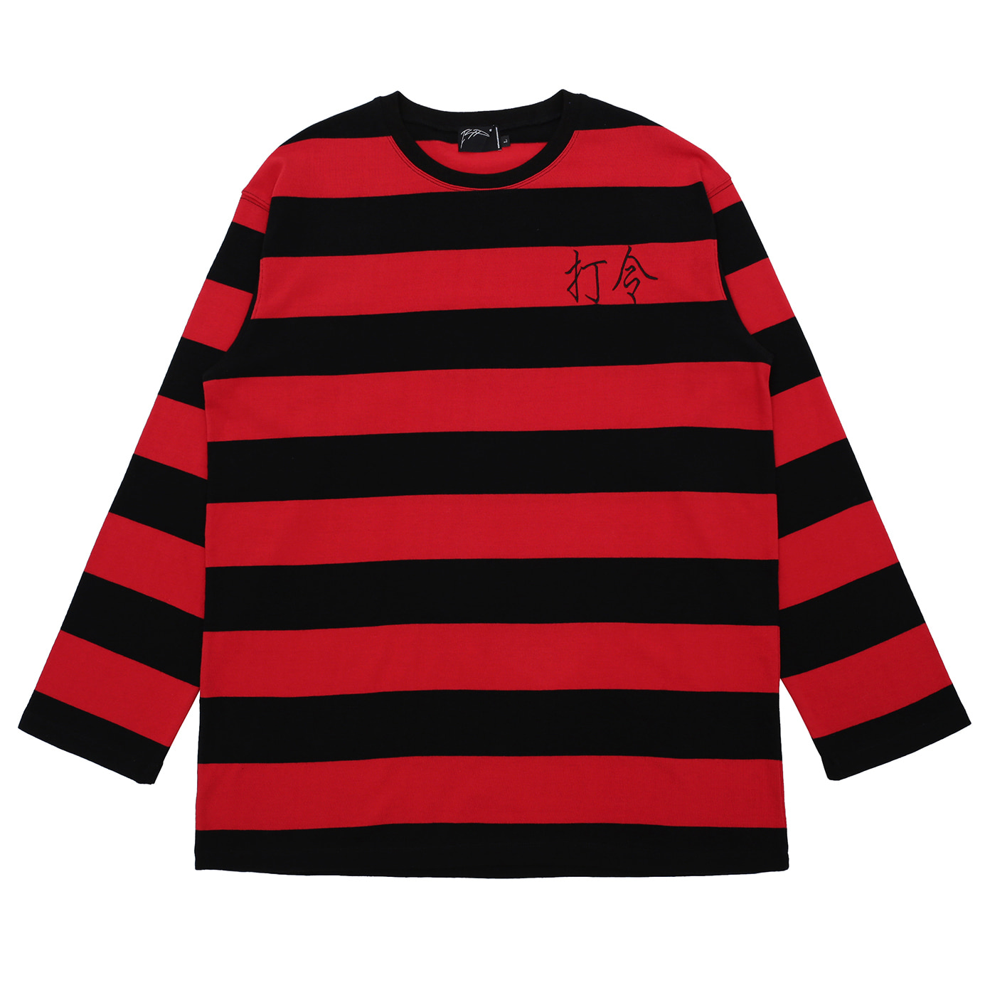 [아이사피] Poong Ark Stripe T-shirt Red