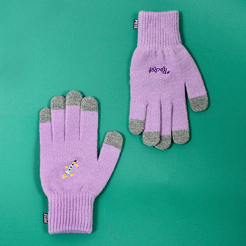 [피스메이커]SPACE UNIT SMART GLOVES (PURPLE)