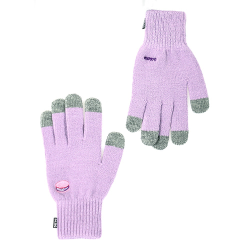 [피스메이커]MACARON SMART GLOVES (PURPLE)
