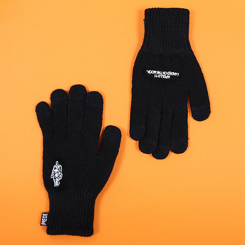 [피스메이커]GLOW SPACE SMART GLOVES (BLACK)