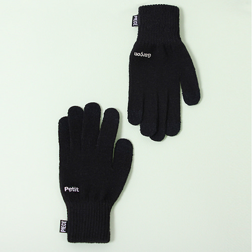 [피스메이커]PETIT GARCON SMART GLOVES (BLACK)