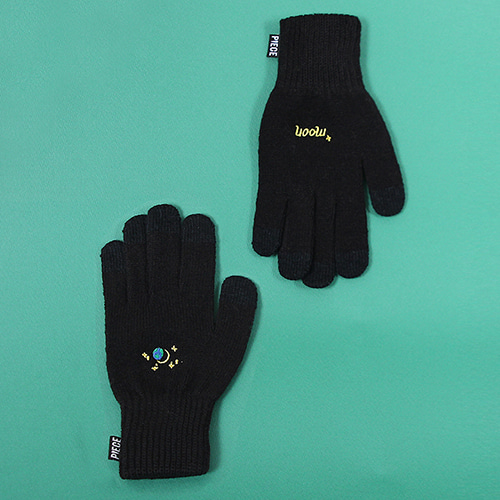 [피스메이커]SPACE UNIT SMART GLOVES (BLACK)