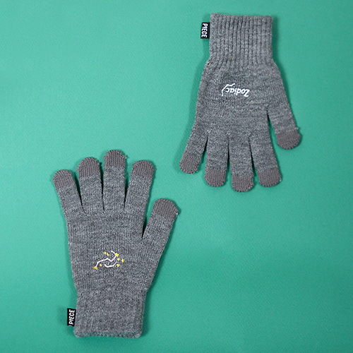 [피스메이커]SPACE UNIT SMART GLOVES (GREY)