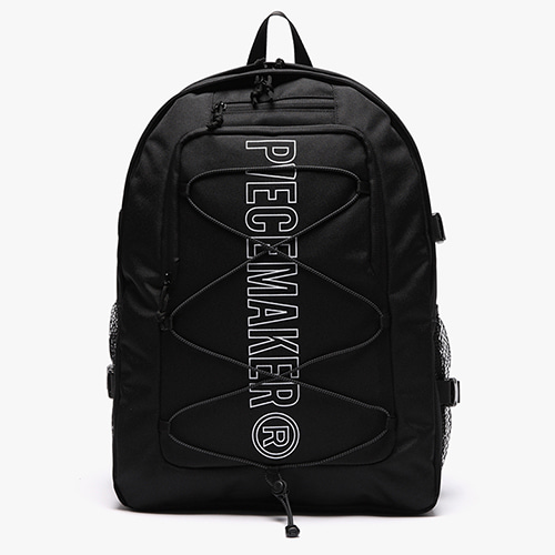 [피스메이커]STRING SQUARE BACKPACK (BLACK)_SCOTCH LIGHT