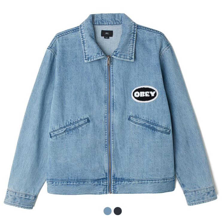 [오베이]RELEASE DENIM JACKET [2COLOR]