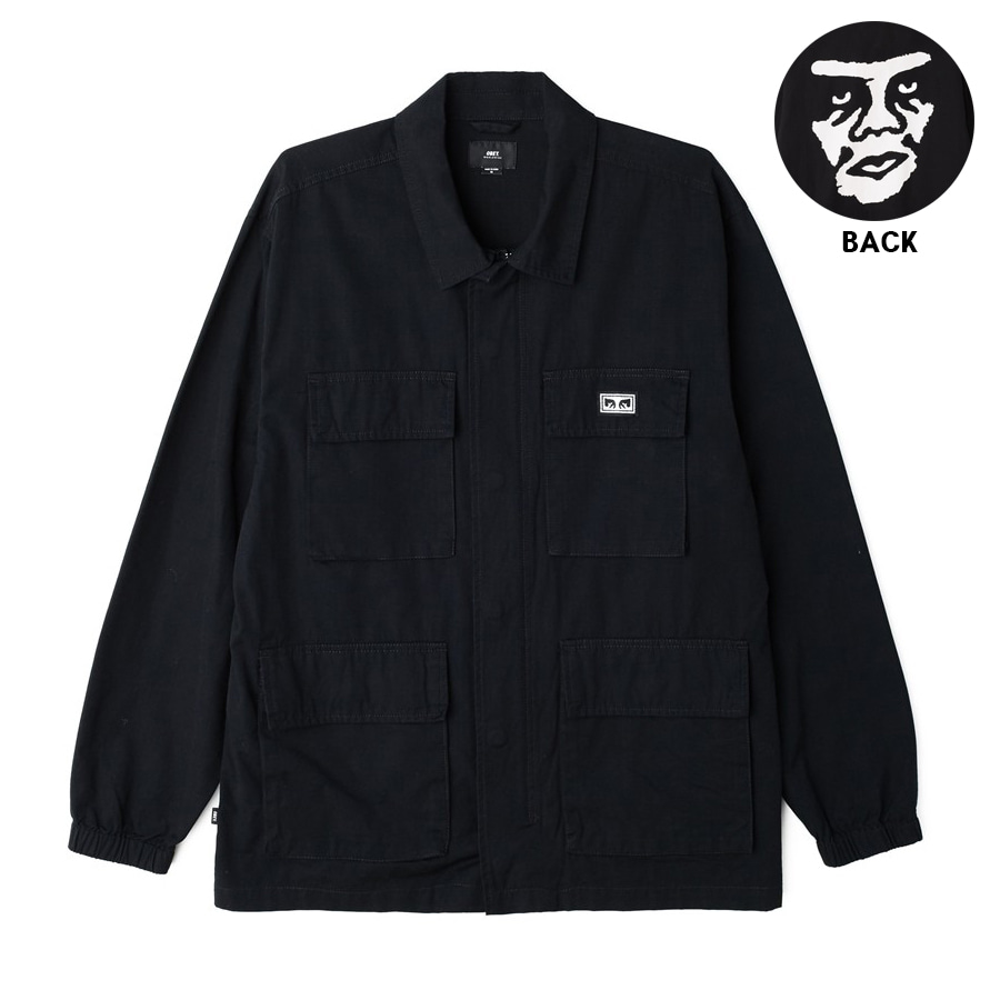 [오베이]LOOMING BDU JACKET -BLACK 자켓