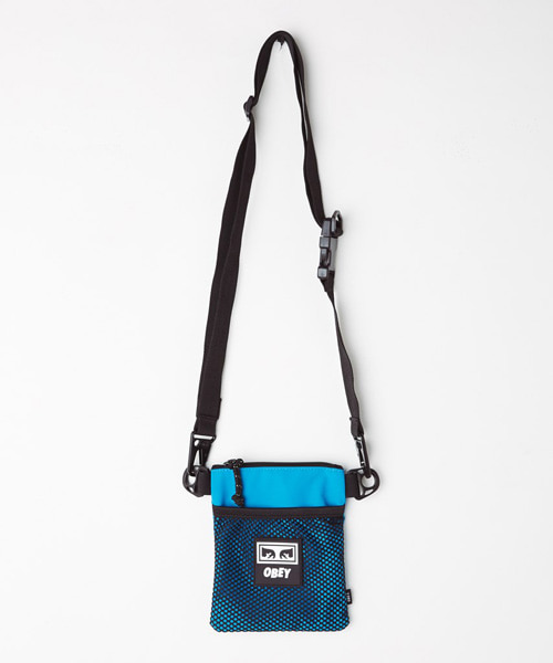 [오베이] CONDITIONS SIDE POUCH - PURE TEAL