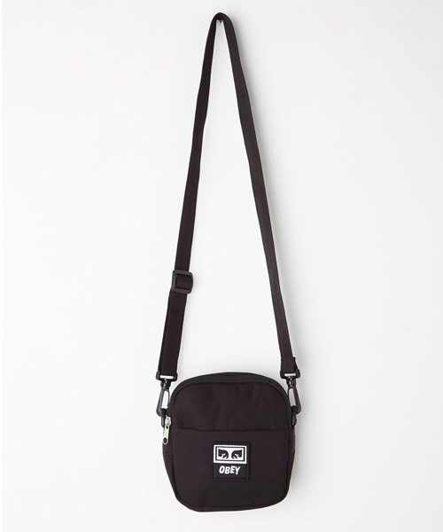 [오베이] DROP OUT TRAVELER BAG - BLACK