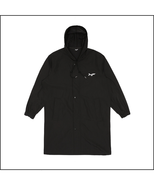 [아이사피] 148 Long Hood Jacket Black