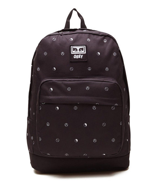 [오베이] DROP OUT JUVEE BACKPACK - SYMBOL BLACK MULTI
