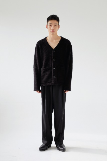 [로렘입숨] Mohair Cardigan(Black)