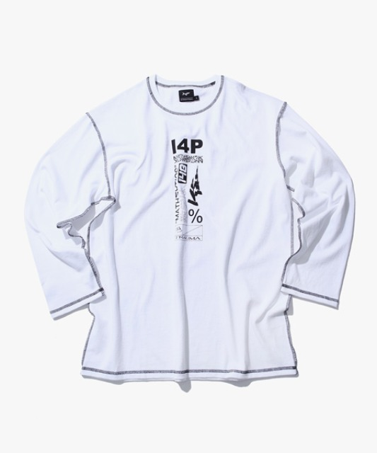 [아이사피] I4P Stitch Long Sleeve (Trauma ver) White