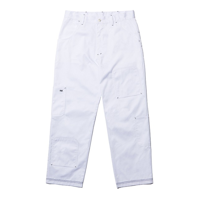 [노매뉴얼] U.D POCKET PANTS - WHITE
