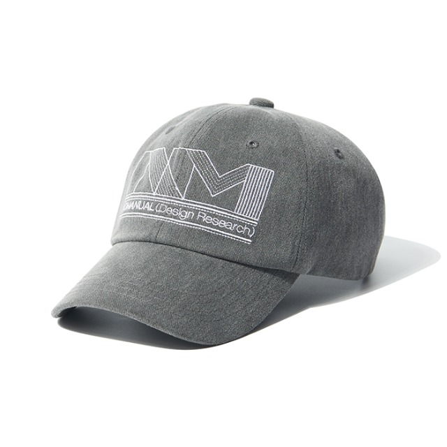 [노매뉴얼] NM GPH BALLCAP - WASHED CHARCOAL