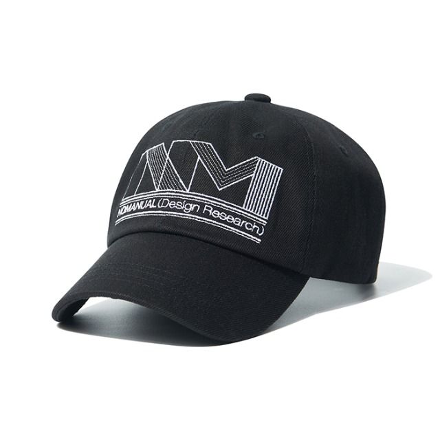 [노매뉴얼] NM GPH BALLCAP - BLACK