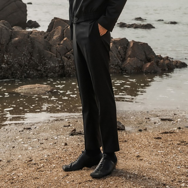 [오디너티] Wool elastic tailored trouser