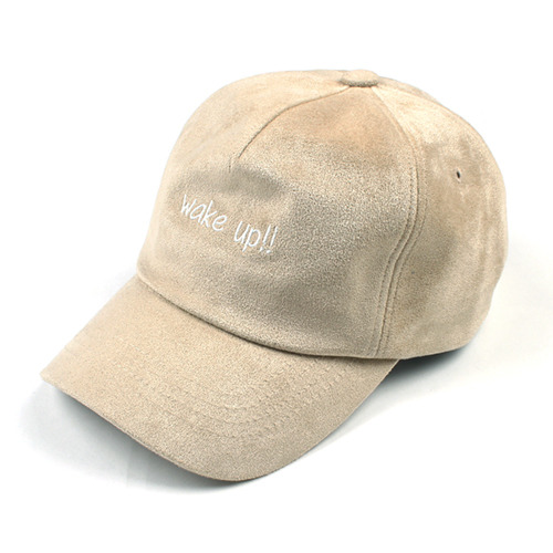 [마치위드]WAKE UP SUEDE 5P CURVED CAP Beige