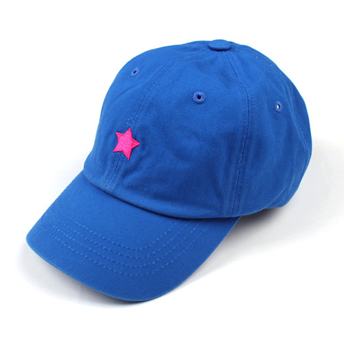 [마치위드]ONE STAR 6P CURVED BALL CAP Blue