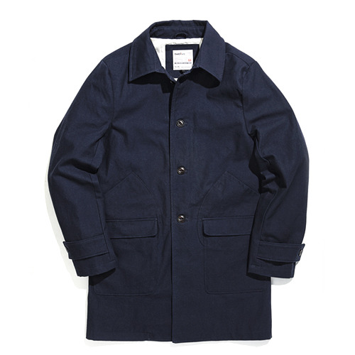F201 SINGLE COAT (navy)
