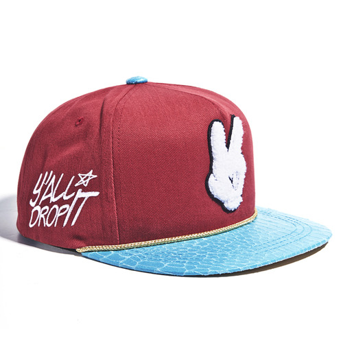 DROPIT SNAPBACK(red)